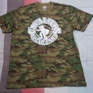 Legit BNWOT 47 Brand NBA Cavaliers Camouflage T-Shirt XL