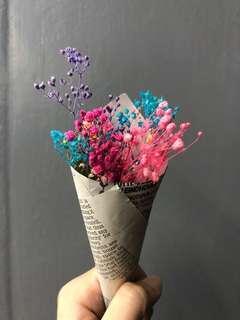 🚚 手做乾燥花束