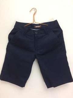 Navy Blue Short Pants