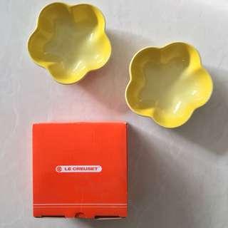 Le Creuset, Mini Flower Bowl set- BRAND NEW