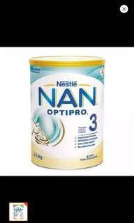 (L) Nestle Nan Optipro Gro 3 (1.8kg)