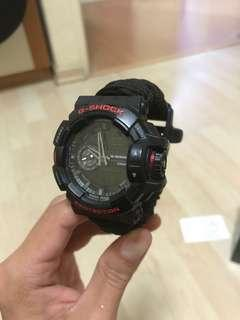 G Shock GA 400HR with paracord