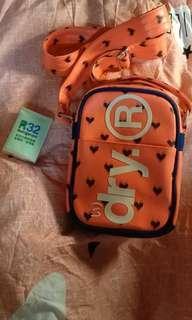 Superdry shoulder bag 斜孭袋 (orange)
