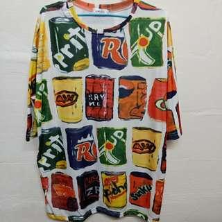 Oversize CAN Drinks Tee #1212