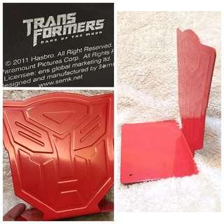 Transformers Autobots Insignia Red Metal Bookend
