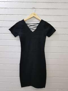 Black Knitted Dress