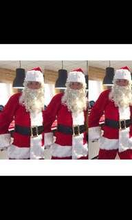 Actual reviews premium Santa Claus costume