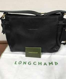 Longchamp Penelope Small Black Shoulder Bag