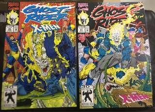 GHOST RIDER AND X-MEN Marvel Comics