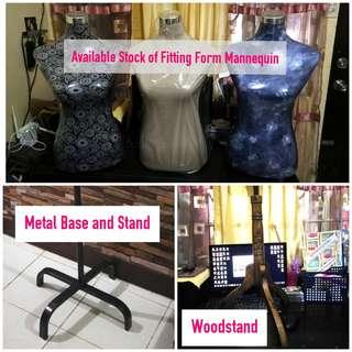 Available Dress Fitting Form Mannequins with Stand
