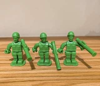 玩具總動員 小綠兵 軍人 toystory