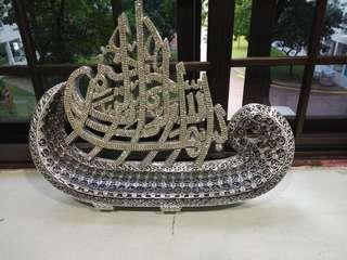 🚚 Arab calligraphy 99names of Allah crystal