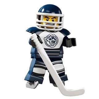 全新 LEGO 8404 Hockey Player 人仔 S04-08