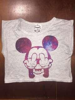 Mickey Crop Top