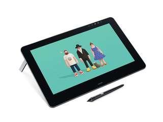 二手)Wacom Cintiq Pro 16HD touch 專業液晶感壓觸控繪圖板