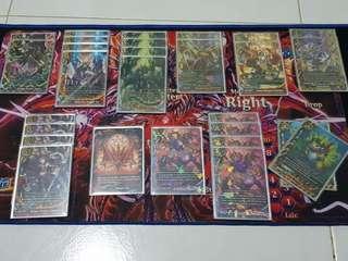 WTS Buddyfight Dragon Eins deck
