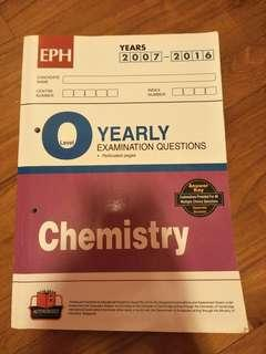 O Level Chemistry tys (2007-2016)