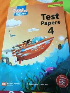 Primary 4 assessment book
