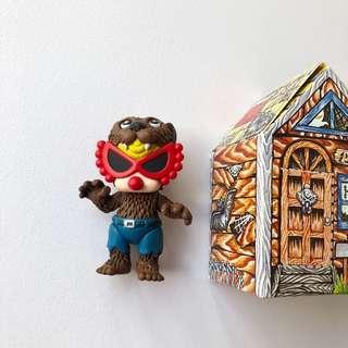 Hysteric mini黑超B House monster公仔