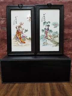 中國四大美人[瓷板畫]細妝