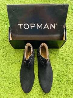 [TOPMAN] [US 8] Black Brawl Buckle #SINGLES1111 #SBUX50