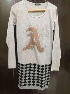 Tunik kaus-knit