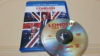 BN US Original London Has Fallen DVD disc only