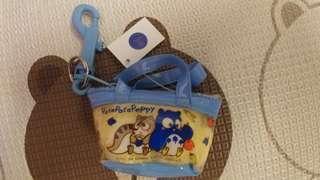 Patapatapeppy 全新日版 1994年 Sanrio 貓頭鹰公仔 散銀包 Coins Bag