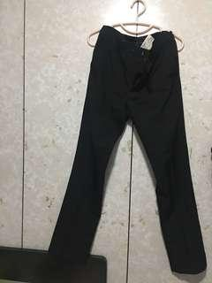 黑色西褲32腰40長
