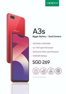 OPPO A3S. Trade with Samsung Huawei OPPO models.
