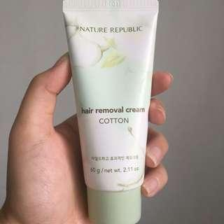 Nature Republic Hair Removal Cotton Cream