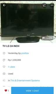 TV LED 24 INCH LG