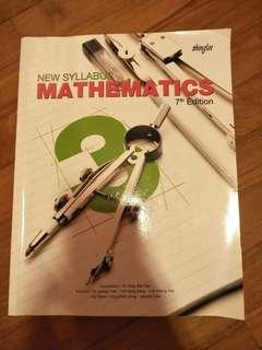 Sec 3 Math Textbook