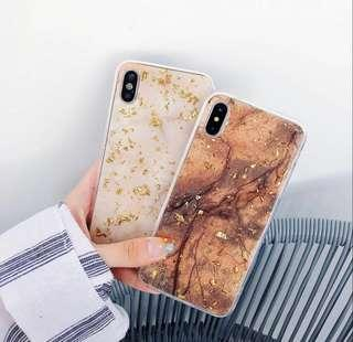 Sparkle gold mobile case