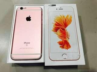 🚚 IPhone 6S 128g 玫瑰金