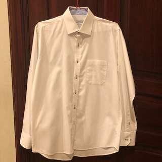 Thomas Smith white shirt 15 1/2