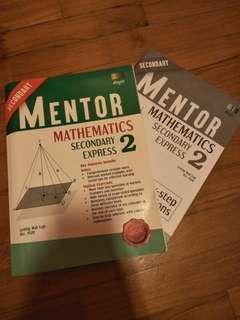 Secondary 2 Math Mentor assessment book