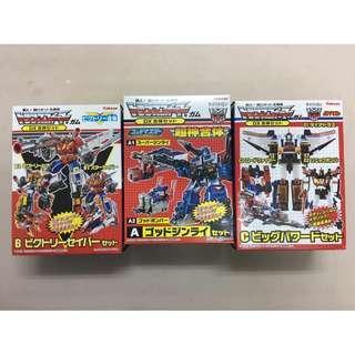 Kabaya 變形金剛 模型 1套3盒
