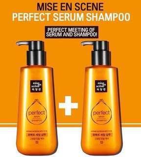 NEW Mise en scene perfect shampoo