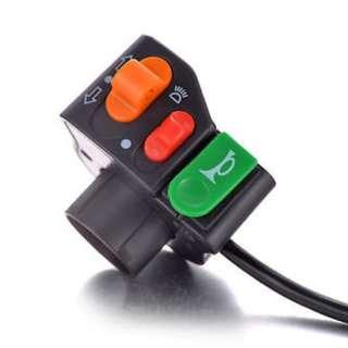 "7/8"" Motorcycle Headlight/Turn Signal/Horn Handlebar Switch"