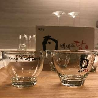Korean Wine Glass