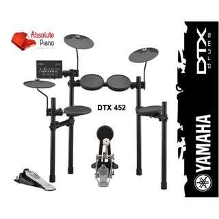 Yamaha Mid Year Sale !!! Yamaha DTX 452K Digital Drum - New Model
