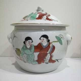 Antique Tea Storage Jar