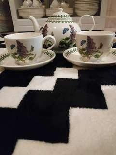 Portmeirion Tea set for 2