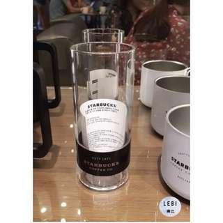 🚚 (附韓國門市專屬防塵袋) 🔥現貨秒出🔥韓國星巴克 2018年1月新品 限量經典玻璃杯 355ml