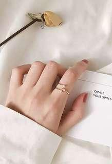 Korean style ring