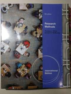 HP1100 Research Methods Textbook