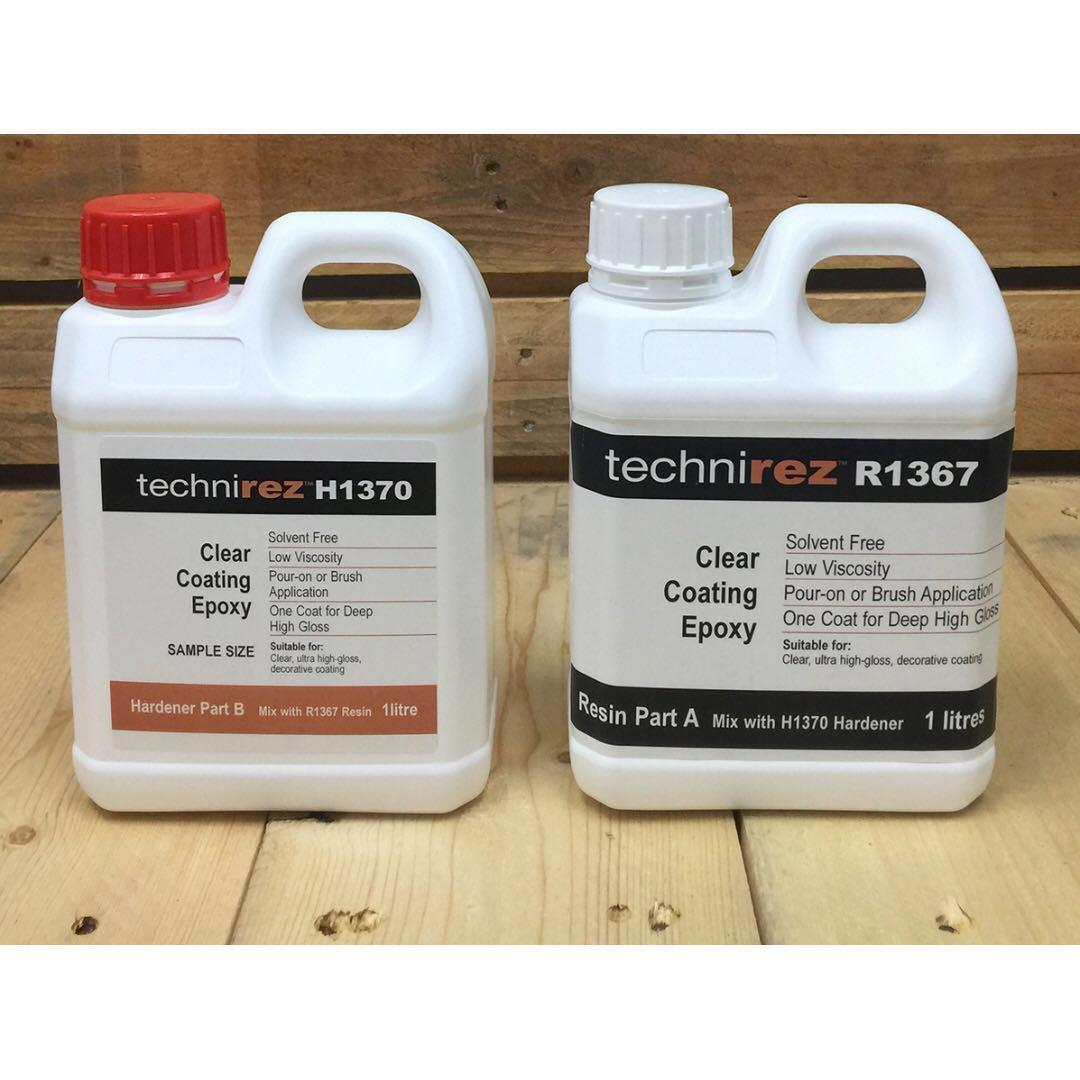 2 litres Art Resin Crystal Clear High Gloss Epoxy , Design