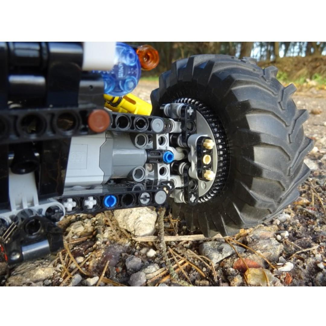 4WD RC Buggy, MOC-19517 by Didumos, LEGO mixed Technic, Remote control