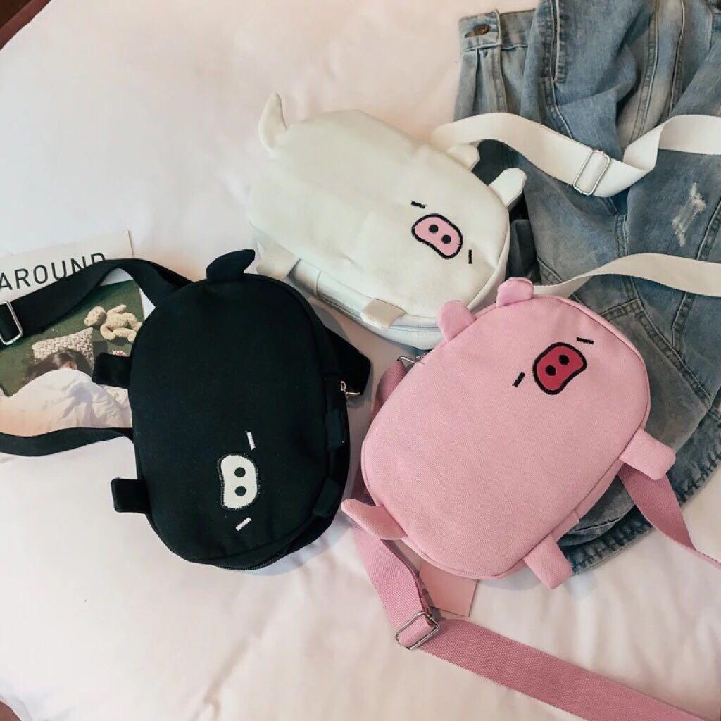 586- Pig Sling Bag
